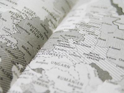 Landkarte Flüchtlinge Europa