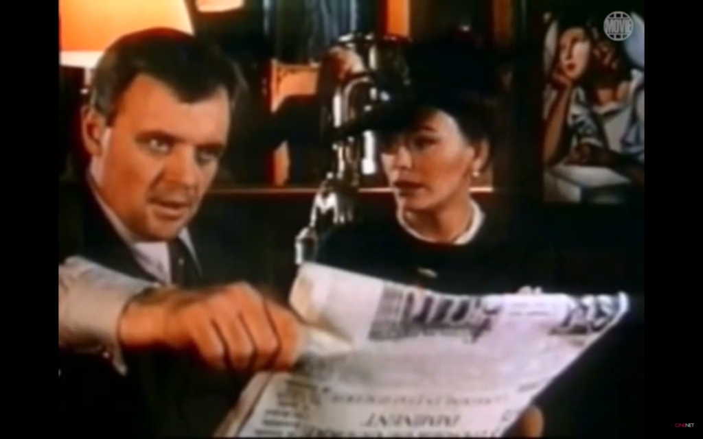 """Hopkins und Down im Film """"Im Schatten des Triumphbogens"""""""