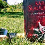Buch mit Hammer auf einer Wiese - Schwarze Wut