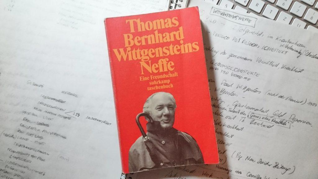Thomas Bernhard, Wittgensteins Neffe Buchcover