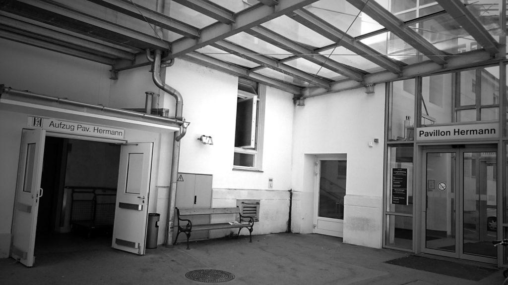 Eingang Pavillon Hermann